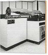 Nist-7, Atomic Clock Wood Print