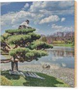 Niwaki Wood Print
