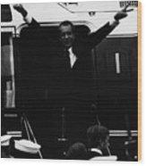 Nixon Presidency.   Former Us President Wood Print