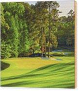 No. 11 White Dogwood 505 Yards Par 4 Wood Print
