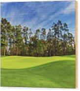 No. 14 Chinese Fir 440 Yards Par 4 Wood Print