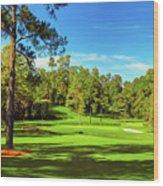 No. 15   Fire Thorn 530 Yards Par 5 Wood Print