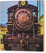 No 29 Virgina Truckee Train Wood Print
