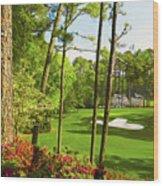 No. 6 Juniper 180 Yards Par 3 Wood Print