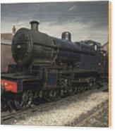 No 88 At Minehead Wood Print