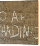 No A  Chadin II Wood Print