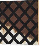 No Escape Wood Print by Wim Lanclus