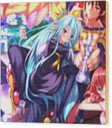 No Game No Life Wood Print
