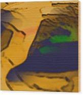 No Man's Land IIi Wood Print