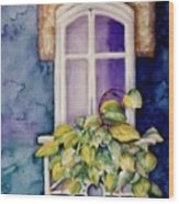 Juliet Balcony Wood Print