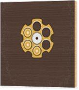 No019 My Deerhunter Minimal Movie Poster Wood Print