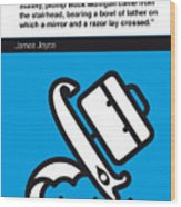 No021-my-ulysses-book-icon-poster Wood Print