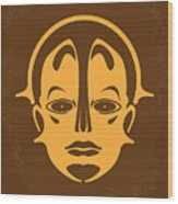 No052 My Metropolis Minimal Movie Poster Wood Print