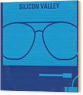 No064 My Pirates Of Silicon Valley Minimal Movie Poster Wood Print by Chungkong Art