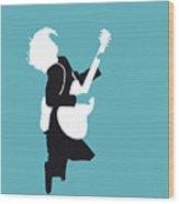 No065 My Acdc Minimal Music Poster Wood Print