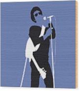 No068 My Lou Reed Minimal Music Poster Wood Print