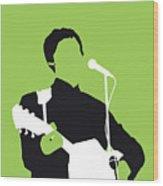 No076 MY PAUL MCCARTNEY Minimal Music poster Wood Print