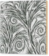 No.1 Wood Print