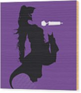 No201 My Jennifer Lopez Minimal Music Poster Wood Print