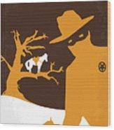 No202 My The Lone Ranger Minimal Movie Poster Wood Print