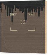No203 My Cloverfield Minimal Movie Poster Wood Print