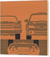 No207-4 My Fast And Furious Minimal Movie Poster Wood Print