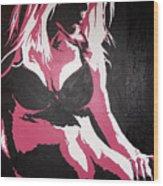 No.3 Wood Print