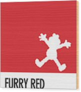 No30 My Minimal Color Code Poster Elmo Wood Print