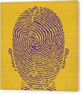 No439 My The Bourne Identity Minimal Movie Poster Wood Print