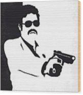 No526 My Medellin Minimal Movie Poster Wood Print