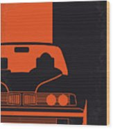 No552 My The Transporter Minimal Movie Poster Wood Print