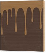 No567 My Chocolat Minimal Movie Poster Wood Print