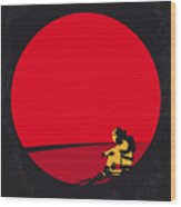 No620 My The Martian Minimal Movie Poster Wood Print