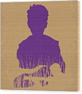 No636 My Looper Minimal Movie Poster Wood Print
