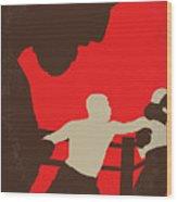 No723 My Southpaw Minimal Movie Poster Wood Print