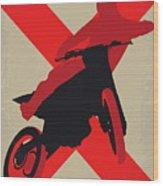 No728 My Xxx Minimal Movie Poster Wood Print