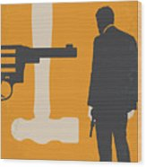 No854 My Payback Minimal Movie Poster Wood Print