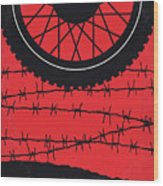 No958 My The Great Escape Minimal Movie Poster Wood Print