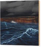 Noah Ark Wood Print