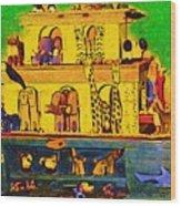 Noahs Ark From My Point Wood Print