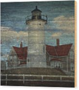 Nobska Lighthouse 2 Wood Print