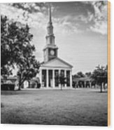 Leavell Chapel New Orleans Baptist Theological Seminary Wood Print