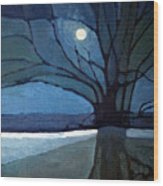 Nocturne 71 Wood Print