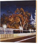 Nocturnal Cabrillo Wood Print