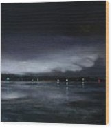 Nocturne, Claytor Lake Wood Print