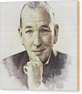 Noel Coward Wood Print
