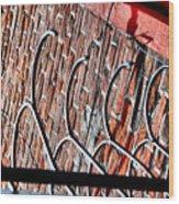 Nola Security4 Wood Print