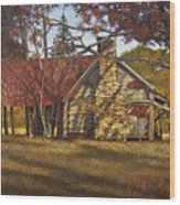 Nolan Corners Farmhouse Wood Print