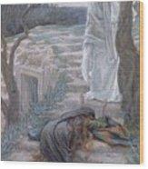 Noli Me Tangere Wood Print by Tissot