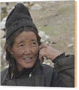 Nomads Of Ladakh Wood Print